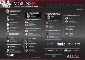 Agenda Congreso Nacional #VISION2020 de itSMF España