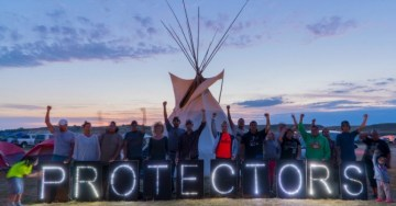 Jane Speaks: The Dakota Access Pipeline – Native Protectors of Sacred Water Draw the Line