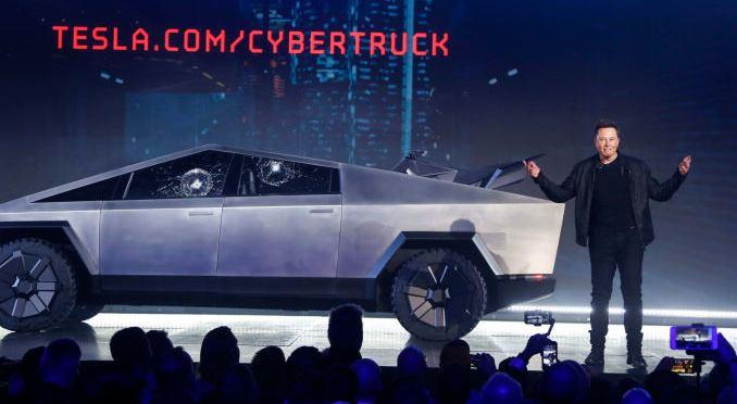 Tesla's Damaged Cybertruck