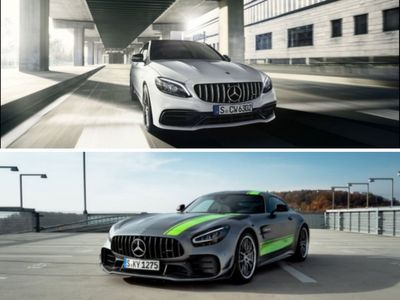 Mercedes Launched AMG C 63 Coupe and AMG GT R in India