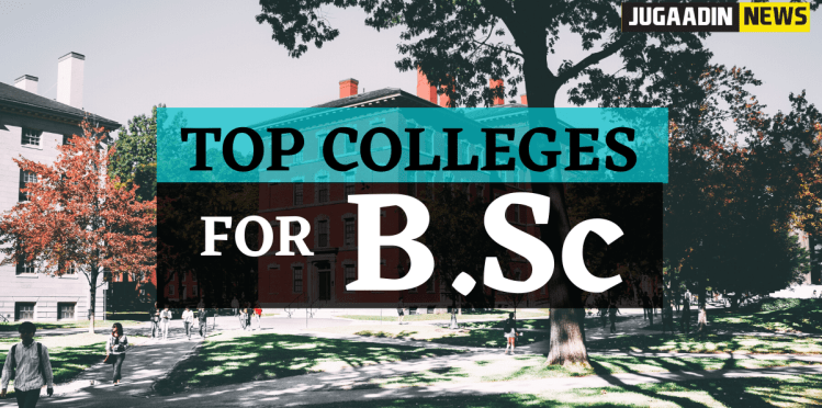 college for BSC in India