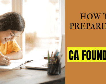 How to prepare for CA foundation