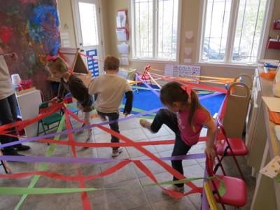 Indoor Obstacle Course | Indoor games for kids