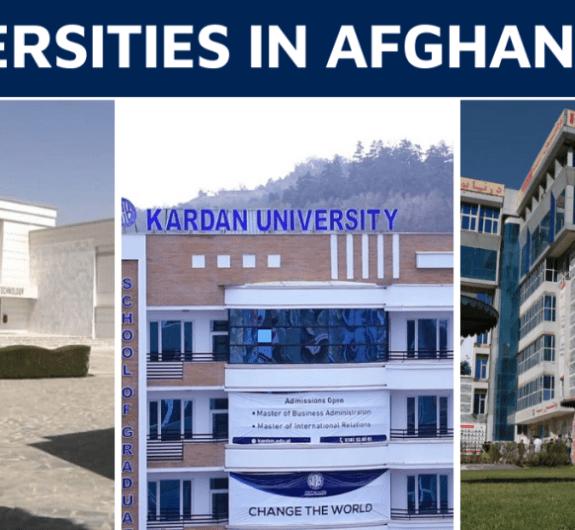 Universities in Afghanistan