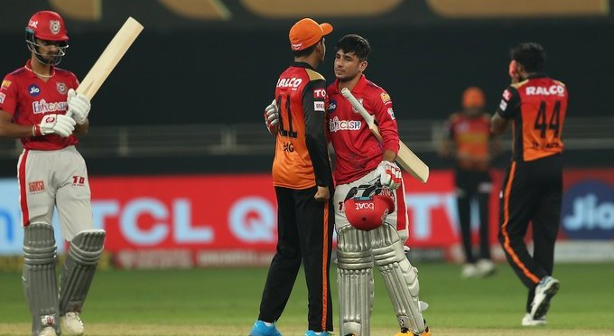 IPL 2020 UPDATES: WITH THE HELP OF WARNER AND BAIRSTOW'S INNINGS SRH BEAT KXIP BY 69 RUNS