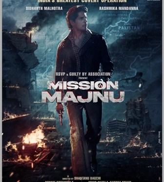 mission majnu first look