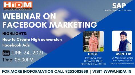 Webinar Fest : Webinar on Facebook Marketing