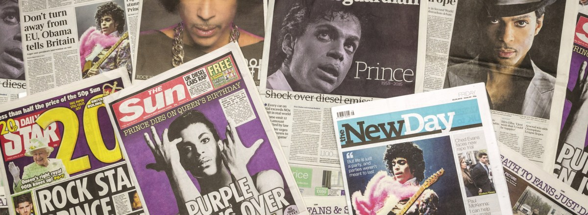 Estate of Recording Artist Prince Sues Domain Trader, Alleging Cybersquatting