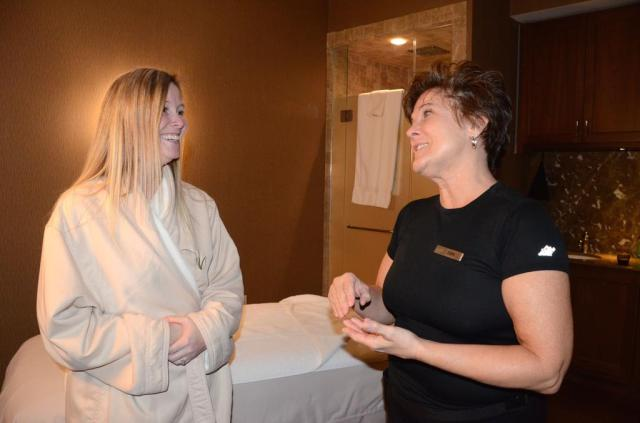 Westbrook Resident Mary Bernier Left A Single Mother Of A Son With Special Needs Recently Had A Spa Day Which Included A Massage From Inn By The Seas