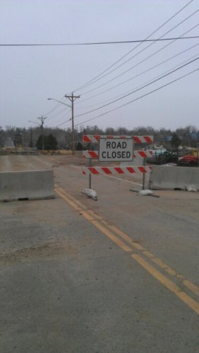 Sunset bridge in Longmont was severely damaged during last September's floods, it is still closed to the public.