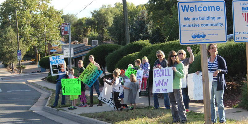 Jefferson Country School Protest