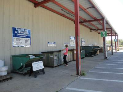 Eco-cycle's CHaRM facility (Center for Hard to Recycle Materials)