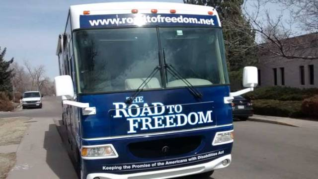 ADA Bus Road to Freedom