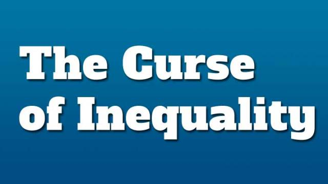 curse of income inequality