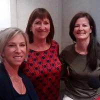 Sue Mackey, Kim Mooney, Bev Boyer