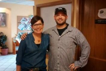 Jane Kleeb and Shane Davis