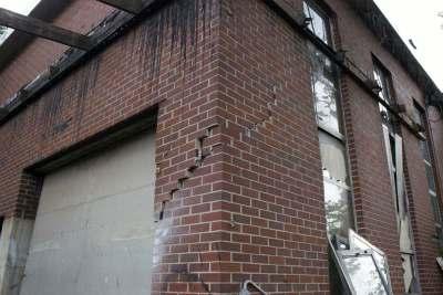 Oklahoma Earthquake Building Damage