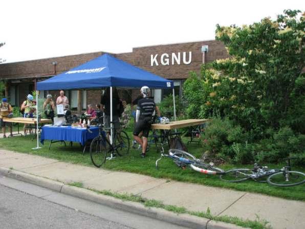 kgnu bike to work