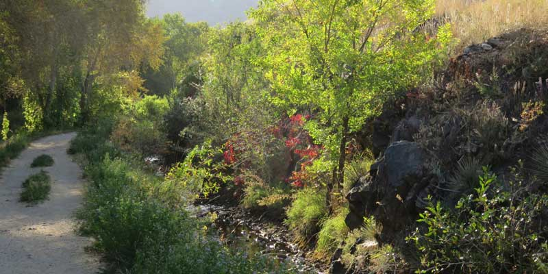Mouth of Clear Creek Canyon Park