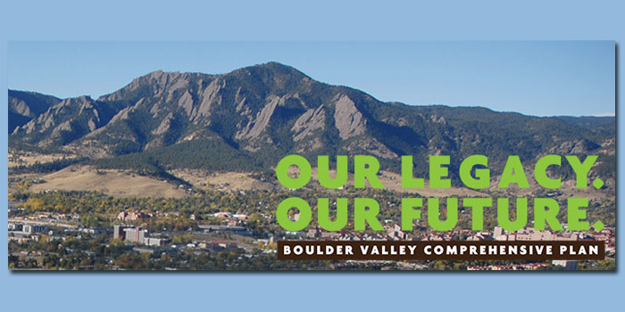 Boulder Comprehensive Plan
