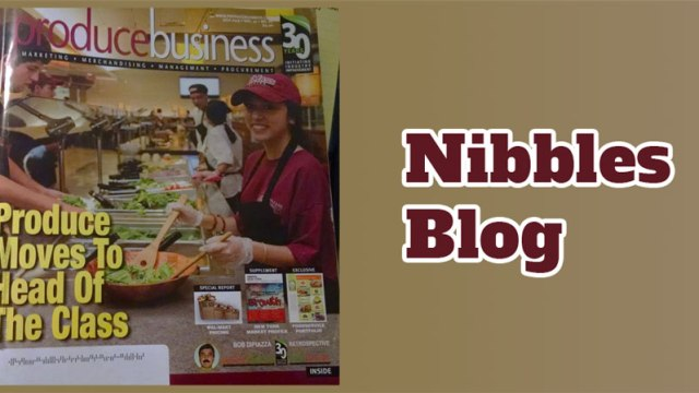 Nibbles Blog: Produce at Universities