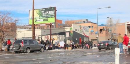 homeless raids