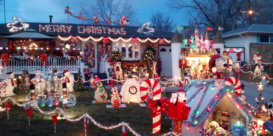 The Christmas House in Longmont