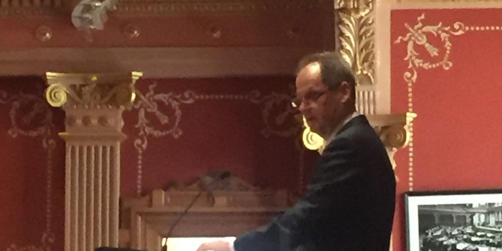 Colo Senate President Bill Cadman