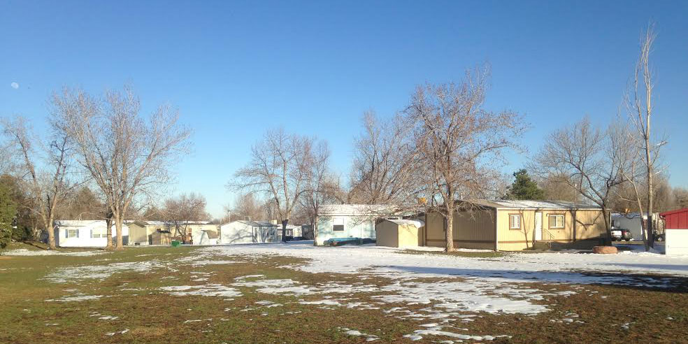 manufactured home park boulder