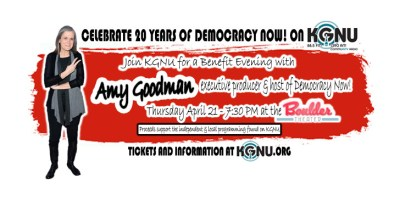 Amy Goodman Boulder Theater
