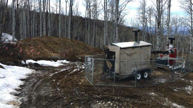 West Elk Methane Vent