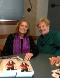Gloria Steinem and Diana Korte