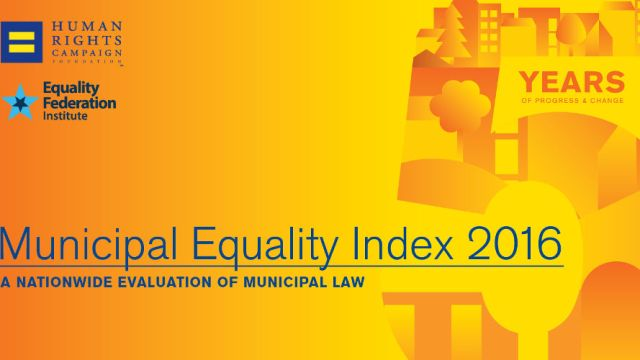Human Rights Campaign-Municipal Equality Index