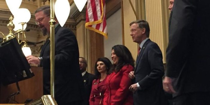 Capitol Coverage: Gov. Hickenlooper Focuses On Infrastructure, Health Care In 2017 State Of The State