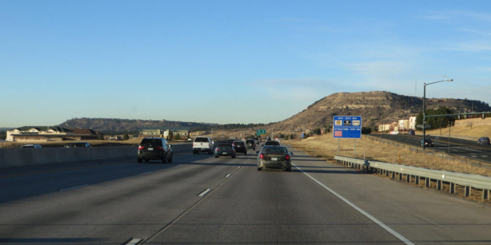 I 25 Near Castlerock, CO