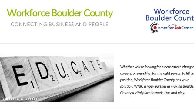 Workforce Boulder County