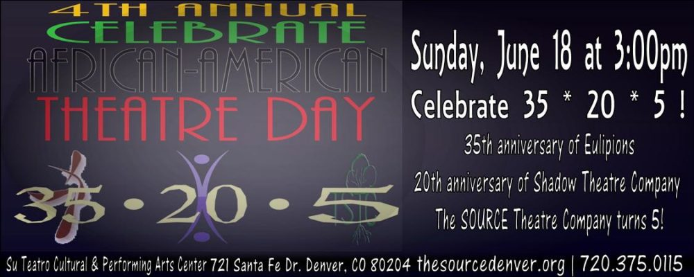 Source Theatre Company Honors Tradition of African American Theater This Sunday