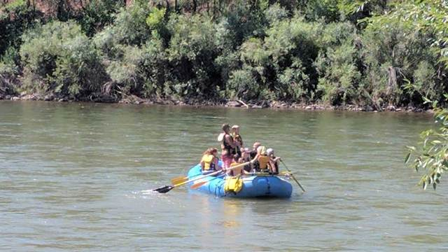 Rafting on the Colorado