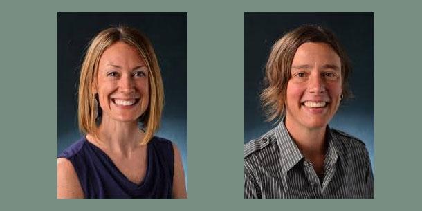 Dr. Sara Staley and Dr. Bethy Leonardi