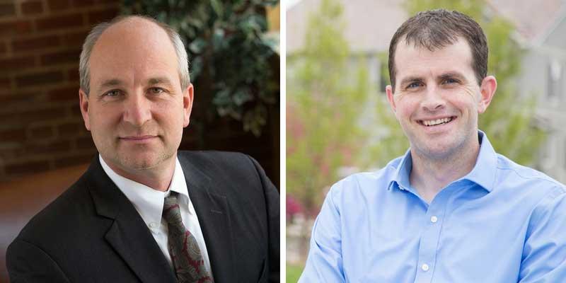 Rep. Steve Lebsock and Rep. Matt Gray
