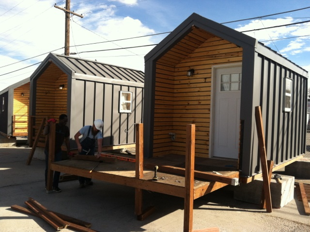 Tiny Homes For The Homeless Forced To Relocate Due To Denver Zoning