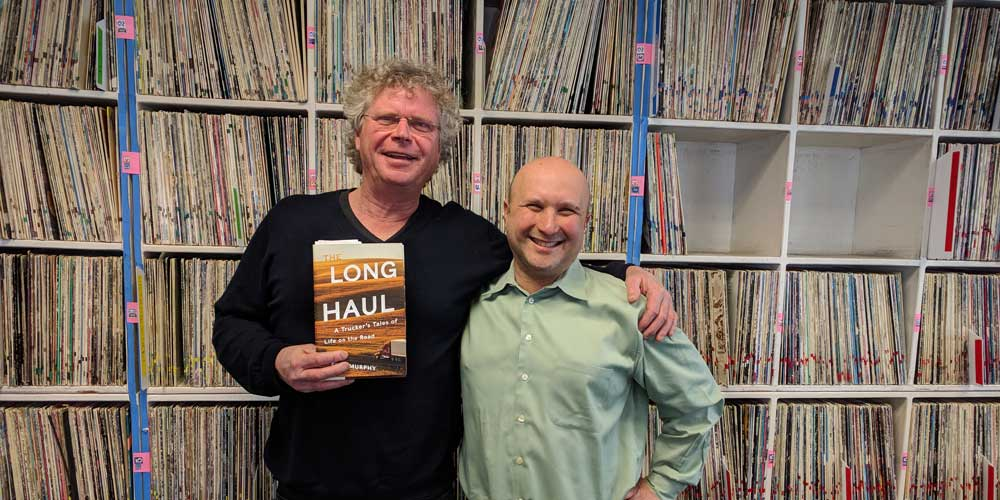 "Radio Bookclub: Boulder author Finn Murphy and ""The Long Haul"""