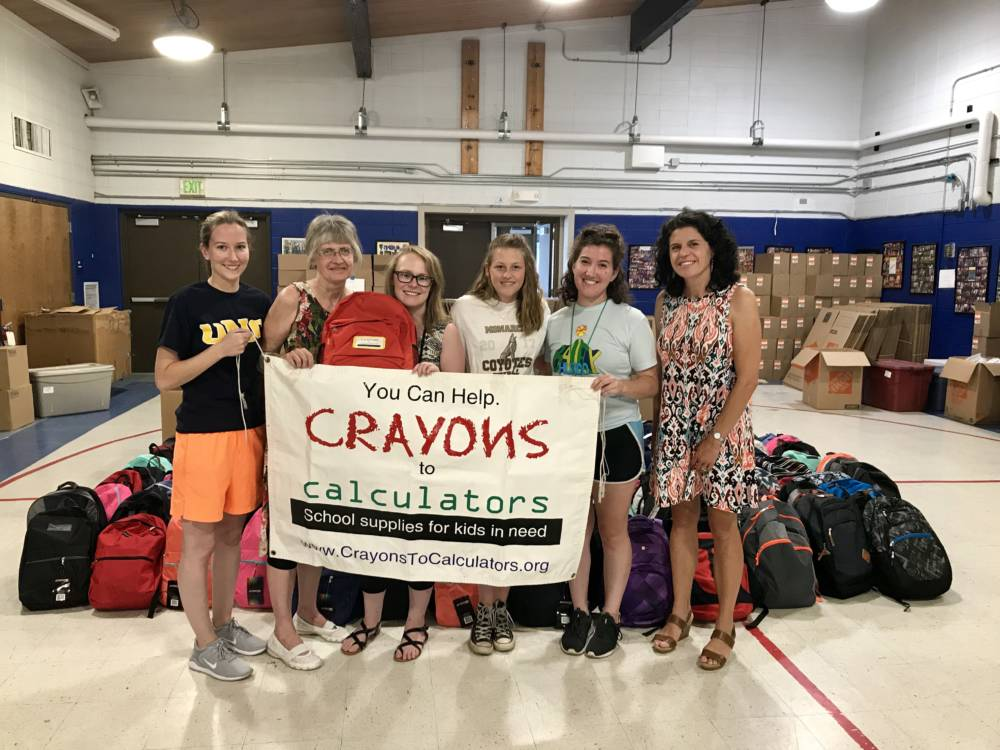 Crayons to Calculators -  Helping Low Income Students