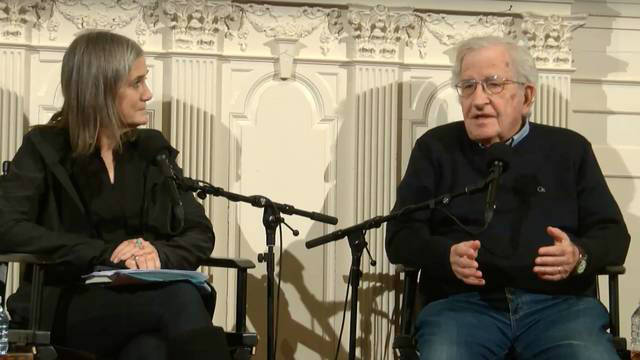 Amy Goodman and Noam Chomsky