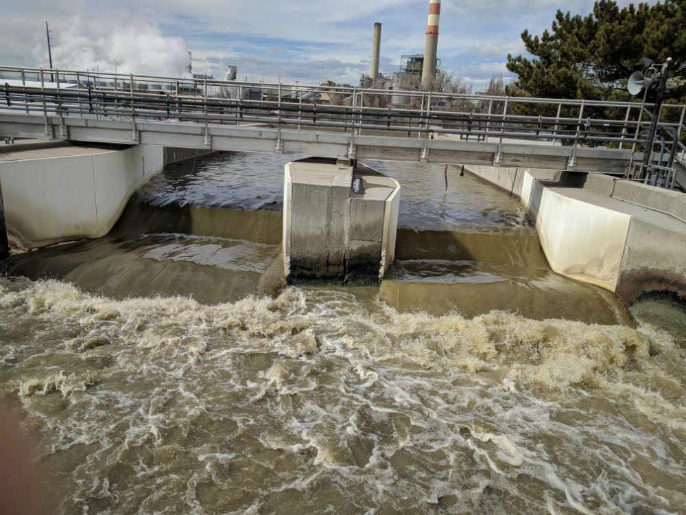 Metro Waste Water intake