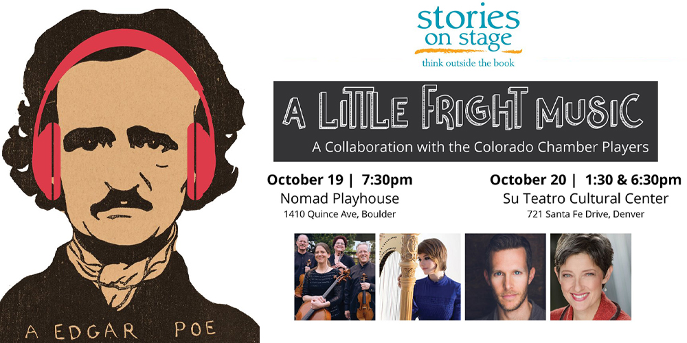 "Stories on Stage Gets Spooky with ""A Little Fright Music"" in Collaboration with the Colorado Chamber Players"
