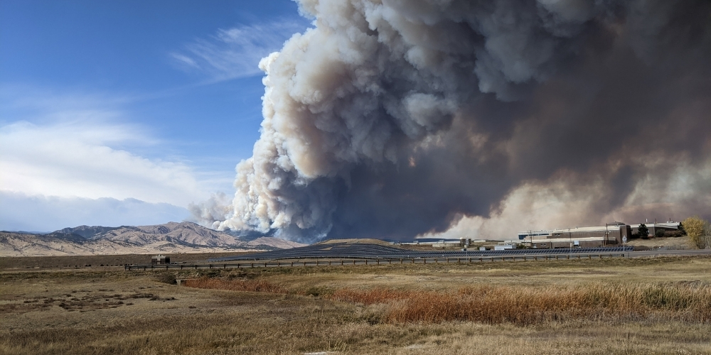 Cal-Wood and Lefthand Canyon Fires Burning in Boulder County