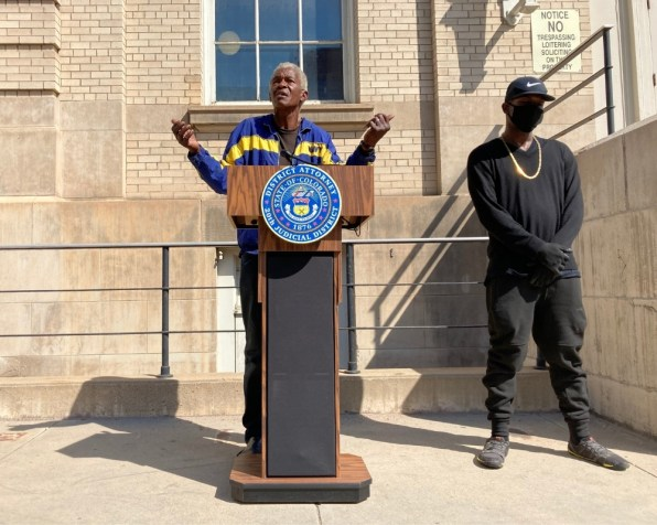 Amos Washington Jr. a Navy veteran who has spent years unhoused on and off in Boulder was the president of Camp Free Spirit, an encampment that was established in the courtyard outside the municipal building in downtown Boulder.