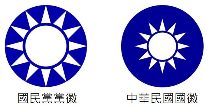 國徽vs黨徽