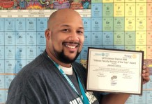 Klein Forest Teacher Named Interact Adviser of the Year
